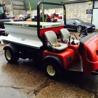 Toro Workman With Dakoto Top Dresser
